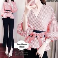 New Product Rena Kimono Blouse Red