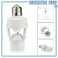 Smart Fitting E27 Lampu Bohlam dengan Infrared Sensor Gerak