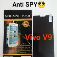 anti gores screen protector SPY hitam vivo V9 / V 9