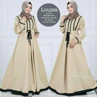 Gamis Baloteli Louisa Maxi Dress/Baju Muslim Wanita/Gamis Syar'i