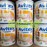 AVITEX Emulsion Cat Tembok Kaleng Kecil 1Kg 1 Kg - Avian Paints