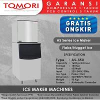 Mesin Pembuat Es Flake AS-350 TOMORI ICE FLAKE Maker