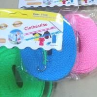 Tali Jemuran Plastik Windproof Non-Slip 5m Clothesline