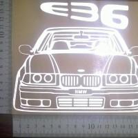 Sticker BMW E36 Model Vector