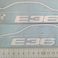 Sticker BMW E36 Model Siluet