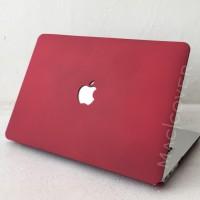 macbook case casing RED MAROON WINE SAND pro retina 13 15 air 11 13