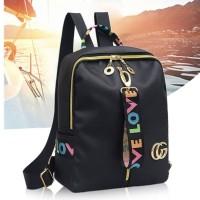 Backpack Ransel Tas Punggung ABG Remaja Wanita Import Korean JC-MC 03
