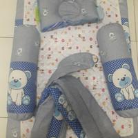 Set kasur bantal peyang guling perlak gendongan bayi paket bayi