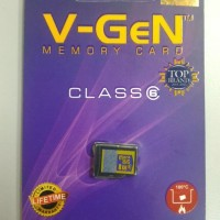 MEMORY CARD V-GEN 8 GB CLASS 6/MICRO SD CARD VGEN ORIGINAL