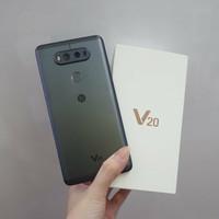 Handphone Flagship LG V20 Ram4Gb Memory64Gb Second Fullset Mulus