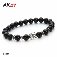 Gelang Batu Onyx Buddha Head 8mm Custom