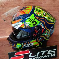 Helm AGV K3 SV Rossi Five Continent 46