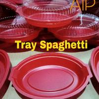 Tray Spaghetti Mika Spageti Oval Box makanan
