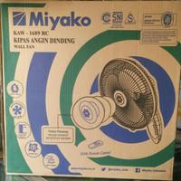 Kipas angin dinding MIYAKO 1689RC dengan remote