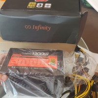 Infinity 1300 watt Striker Power PSU Power Suply Gold 80 Plus
