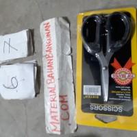 gunting scissor kc 818 kecil gunting kertas kain 12 cm stainless