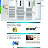 AC FLOOR STANDING 5PK 5 PK CHANGHONG R410a KF-120LW/K KF120LW
