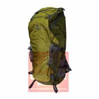 Tas Carrier Eiger 1264 Gekkota 45L Green - Tas Ransel Gunung -Backpack