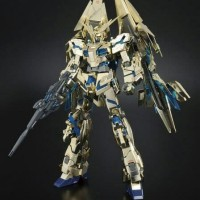 Bandai MG 1/100 Gundam Unicorn Phenex gold plated