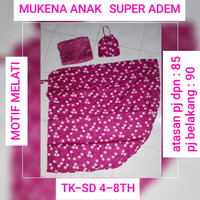mukena anak super adem PAUD TK SD 4-8th