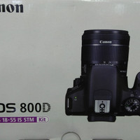 Canon EOS 800d kit EF- 18-55 IS STM