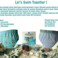 Popok Renang Bayi / Celana Renang Baby / Swim Diaper Minikinizz Size 1