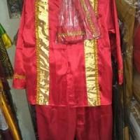 baju pakaian adat daerah makassar sulsel bodo anak cowok M