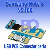 Samsung Galaxy Note 8 N5100 usb konektor cas papan pcb plugin