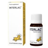 BioGaia Interlac Probiotic Drops 5ml