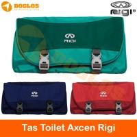 Tas Toilet RIGI Axcen Travel Oganizer Wash Bag Perlengkapan Mandi