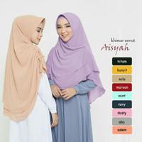 khimar bergo hijab jilbab kerudung syari instan Aisyah Serut