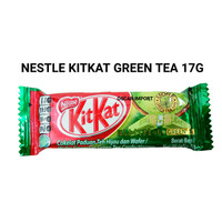 NESTLE KITKAT GREEN TEA 17G KIT KAT GREENTEA HALAL