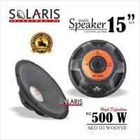 SPEAKER WOOFER 15 Inch CRIMSON CR-15500 Karakter Mid-Hi