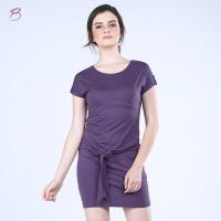 BODYTALK-DRESS LENGAN PENDEK NEW DRESSIE (72007T6PU)