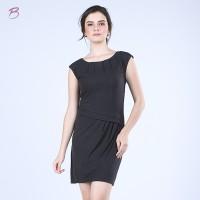 BODYTALK-DRESS LENGAN PENDEK X-BLACK \(72004T6XB)