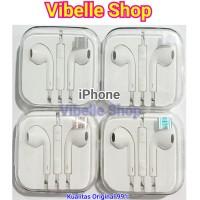 Headset Handsfree earphone Earpod Apple Iphone 4 5 6 7 8 9 s + ori 99%