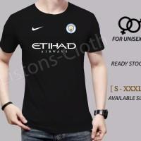 kaos bola Manchester city hitam the citizen baju distro tshirt jersey