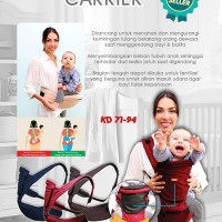 Gendongan Bayi Kiddy Hiprest Baby Carrier 2 in 1 GB036