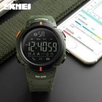 Smart Watch SKMEI 1301 Bluetooth Pedometer Waterproof 50M - Army Green
