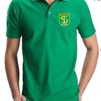 Kaos Polo Shirt Baju Jersey Persebaya Bonek Surabaya Bajoel Ijo Futsal