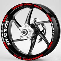 Stiker Velg Motor Yamaha sport matic Mio Soul GT 125 115 utk Ring 14.