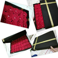 Buket Bunga Flanel/Box/Buket Graduation/Birthday Party