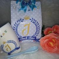 souvenir hampers mug sendok birthday aqiqah one month