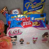 paket souvenir hampers goddy bag nampan snack ultah one month aqiqah