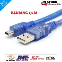 KABEL DATA USB 2.0 To MINI USB 5 Pin Panjang 1.5 Meter