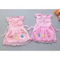 PROMO dari Lovechildren    MELODY dress baju pesta rempel renda