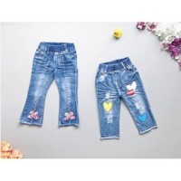 PROMO dari Lovechildren    TRIPLE LOVE PINK FLOWER jeans anak 1