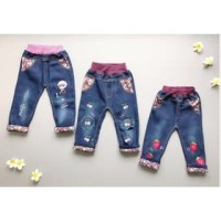PROMO dari Lovechildren    FRUIT JUICE PANTS celana jeans straw