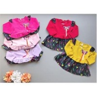PROMO dari Lovechildren    baju rok RAINBOW BUTTERFLY dress bay