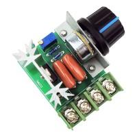 2000W AC 50-220V 25A Adjustable Motor Speed Controller Voltage Reg PW
